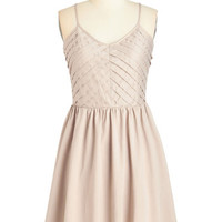 ModCloth Fairytale Mid-length Spaghetti Straps A-line Perfect Plan Dress