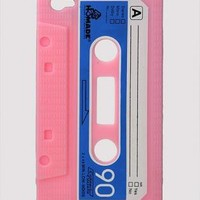 Pink & Blue Audio Tape Print I-Phone 4/4S Case