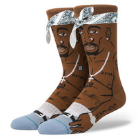Stance - TUPAC - BROWN