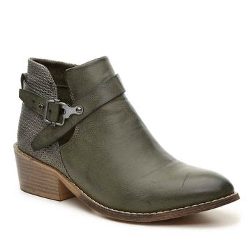 Celtic Khaki Green Bootie