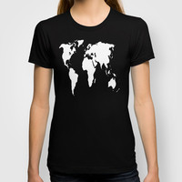 World Outline  T-shirt by Elyse Notarianni