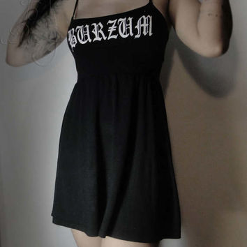 Burzum Black metal dress