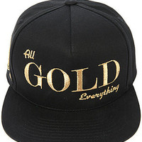 All Gold Everything Mens Snapback