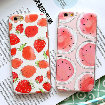Strawberry Watermelon Case for iPhone