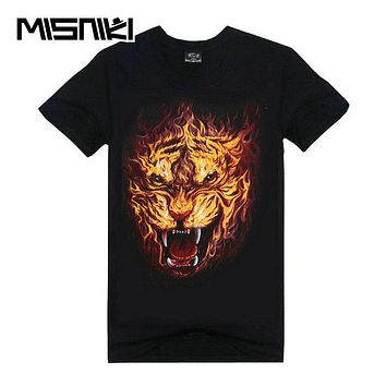 Summer New 3 D T Shirt Men Hip Hop Casual Funny T Shirts Short Sleeve Cotton t shirt