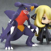 Pokemon Action Figure 507# Nendoroid Cynthia PVC Figure Pokemon Shirona Model Toy Japanese Anime Pokemon Cynthia Figures C0A753