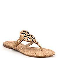Tory Burch - Miller Cork Thong Sandals - Saks Fifth Avenue Mobile