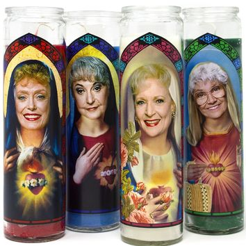 The Golden Girls Saint Prayer Candles - Choose Your Favorite Golden Girl!