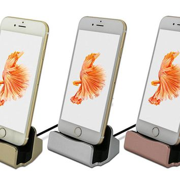 Charging Dock Station For iPhone 6, 7, 8, X and Android
