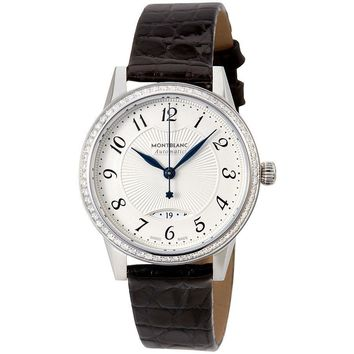 Montblanc Boheme Date Automatic White Dial Ladies Watch 111057