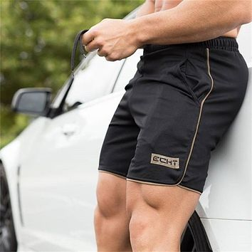 Summer Cool mens  shorts Professional Fitness Bodybuilding fashion Casual gyms workout Crossfit Brand short pants
