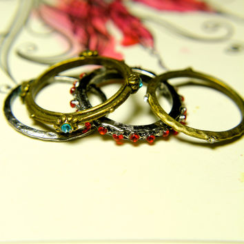 Old Time Treasures Ring