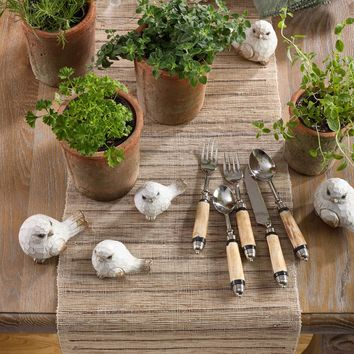 Rustic Natural Table Runner | 72-Inch