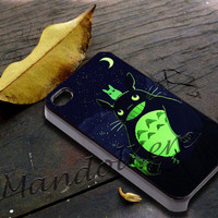 Totoro Cover - iPhone 4 4S iPhone 5 5S 5C and Samsung Galaxy S3 S4 Case