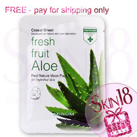 Freebies - Mirum Fresh Fruit Aloe Real Natural Mask Pack