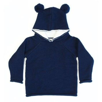 Le Edit Merino Wool Hoodie Sweater