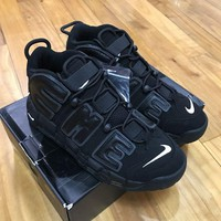 PEAPNJ Air More Uptempo Supreme 'Suptempo' Black 902290-001