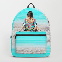 Boho Sea Sick Style Backpacks by Azima