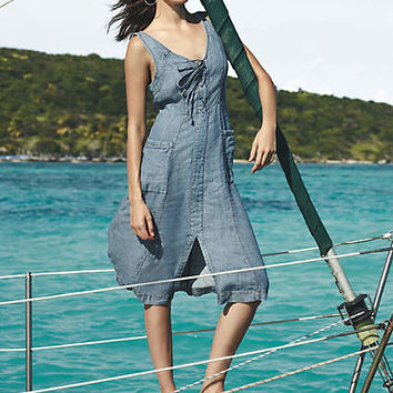 Atoll Denim Dress