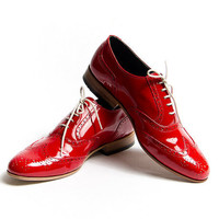 red patent oxford shoes  FREE WORLDWIDE SHIPPING by goodbyefolk