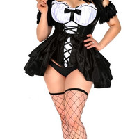 Plus Size Keep It Dirty French Maid Bedroom Costume