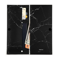 The Black Marble Travel Wallet