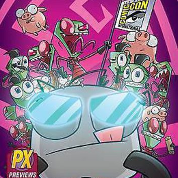 SDCC 2015 Exclusive Invader Zim #1 Oni Press Previews PX Variant Cover
