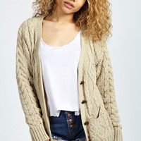 Christie Nep Cable Cardigan