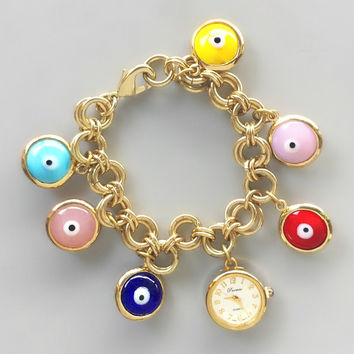 Evil Eye Good Luck Charms Watch