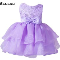 1-24M Baby Girls Dress Infant Baptism Dress For NewBorn Baby 1 Year Birthday Party Dress Ball Gown Baby Girls Baptisms Dress