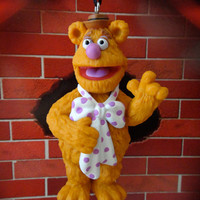 Fozzie Bear Christmas and Holiday PVC Ornament