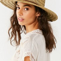 Brixton Bells Straw Lifeguard Hat | Urban Outfitters