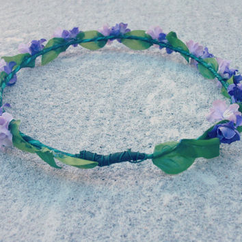 Lavender Floral Crown