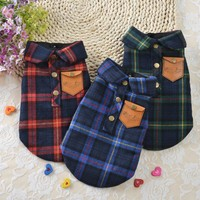 NEW Pet Dog Shirts Coats Jackets Puppy Vest For Small Dogs Clothes Pet Cat Coats Outfit Dog Clothing XS-XL 29S1