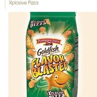 Pepperidge Farms Goldfish, Flavor Blasted Xplosive Pizza, 6.6-ounce bag