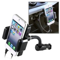 eforCity Car FM Transmitter Charger for iPod touch 4G