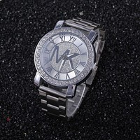 MK Stylish Fashion Casual Designer Watch ON SALE With Thanksgiving Sliver G