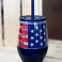 Stars & Stripes Tumbler {10 oz}