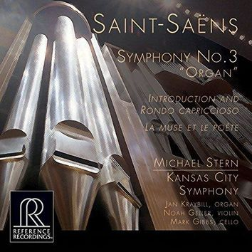 "Michael Stern - Saint-Saëns: Symphony No. 3 in C Minor ""Organ Symphony"", Introduction et rondo capriccioso in A Minor & La muse et le poète"