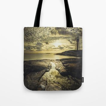 Good night sweet sun Tote Bag by HappyMelvin