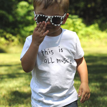 This Is All Muscle | Kids Tee