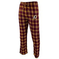 Washington Redskins - Logo Plaid Lounge Pants