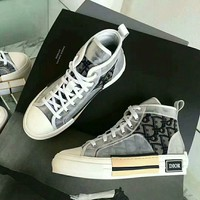 Dior Women Fashion high top Casual sneaker Shoes Best Quality
