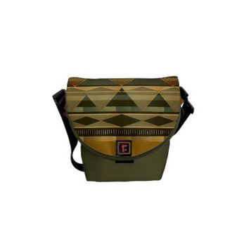 Aztec vibes messenger bags from Zazzle.com