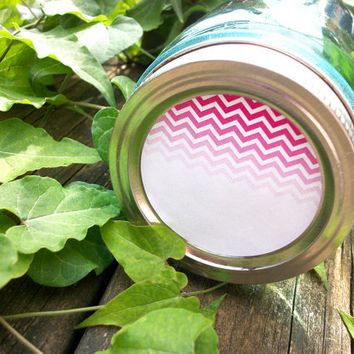 Chevron Canning jar labels, 2 inch round stickers for mason jars, fruit  and vegetable preservation, jam and jelly