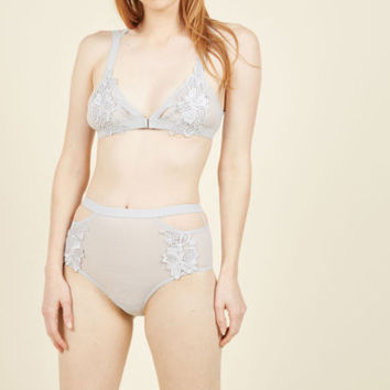 Night Owl Novelist Panties in Moon | Mod Retro Vintage Underwear | ModCloth.com