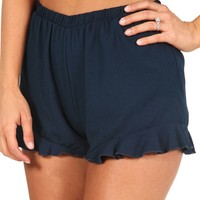 I Want It All Shorts: Navy - Bottoms - Hope's Boutique