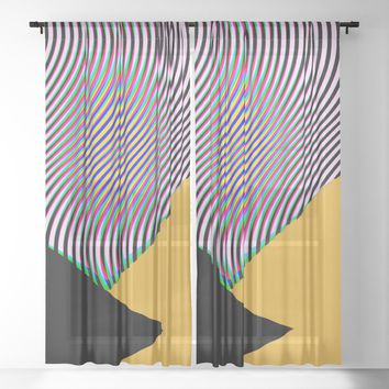 LCDLSD Sheer Curtain by duckyb
