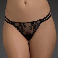 Lace Peek-A-Boo G-String