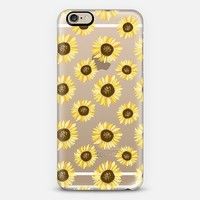 Sunflowers - Transparent iPhone 6s case by The Olive Tree | Casetify